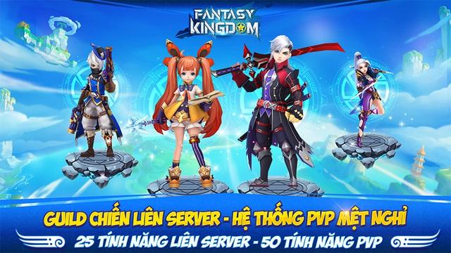 Game nhập vai Fantasy KingDom M - Thánh Địa Huyền Bí đến tay game thủ Việt - Ảnh 4.