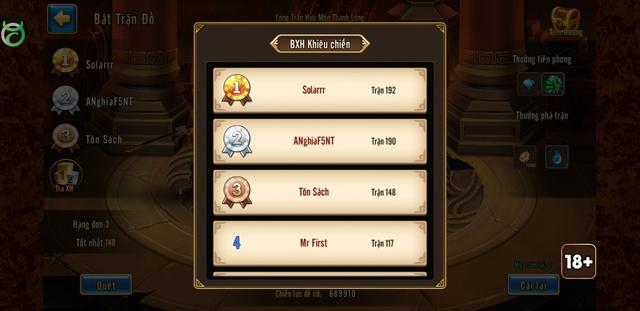 Siêu Vip ANghiaF5NT gây shock khi thách đấu toàn bộ game thủ Toàn Dân Tam Quốc - Ảnh 3.