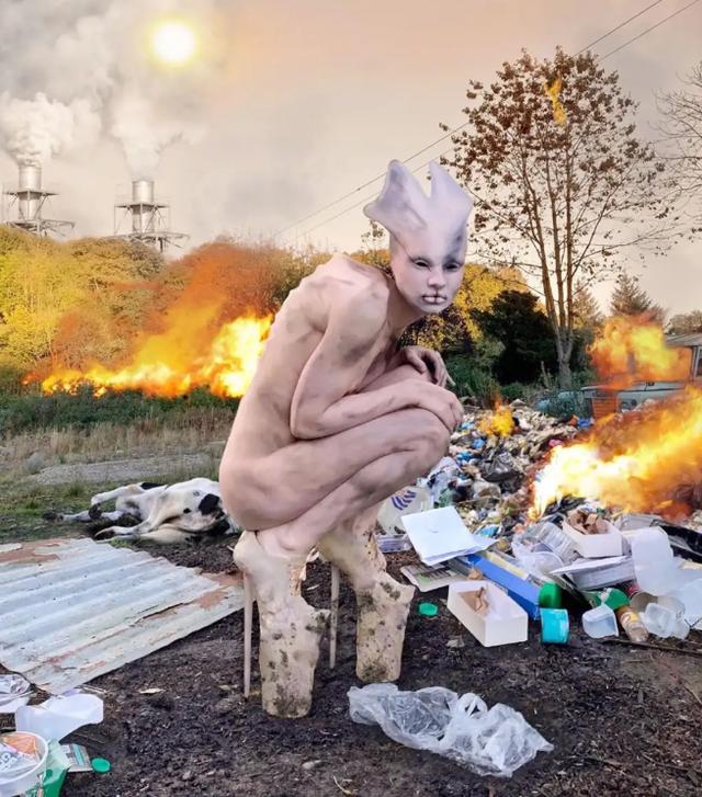 Chiêm ngưỡng màn cosplay thành người ngoài hành tinh phong cách ghê rợn không giống ai - Ảnh 6.