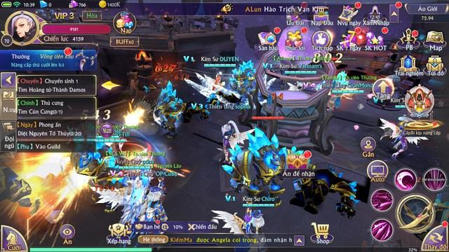 Trải nghiệm Fantasy KingDom M – Thánh Địa Huyền Bí: Tựa MMORPG 3D hiếm hoi có vô tận tính năng - Ảnh 3.