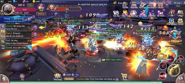 Trải nghiệm Fantasy KingDom M – Thánh Địa Huyền Bí: Tựa MMORPG 3D hiếm hoi có vô tận tính năng - Ảnh 4.
