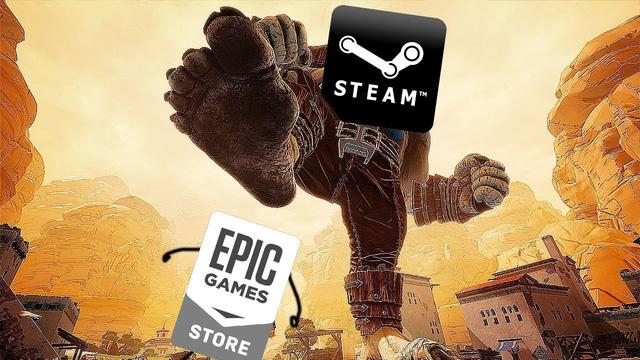 """Miễn phí cả GTA V lẫn ARK, Epic Games Store vẫn là """"muỗi"""" khi so với Steam - Ảnh 1."""