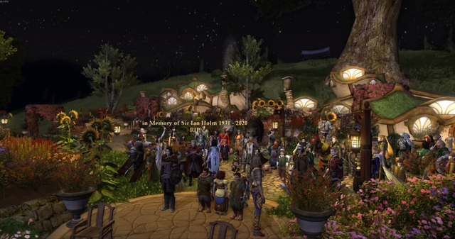 Huyền thoại The Lord of the Rings qua đời, cộng đồng game thủ tưởng nhớ, tổ chức lễ viếng trang trọng trong game - Ảnh 2.