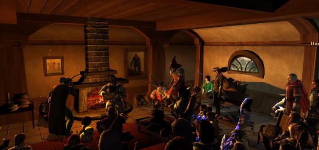Huyền thoại The Lord of the Rings qua đời, cộng đồng game thủ tưởng nhớ, tổ chức lễ viếng trang trọng trong game - Ảnh 3.