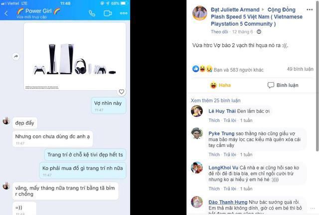 Sau khi PS5 ra mắt, cộng đồng game thủ Việt thi nhau xin vợ lúa để đặt mua - Ảnh 4.