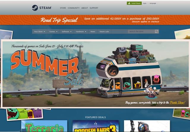 Nhanh tay lên, hàng loạt bom tấn AAA đang giảm giá cực sốc tại Steam Summer Sale 2020 - Ảnh 1.