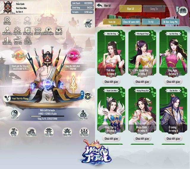 Vừa hé lộ info, Mộng Ảo Tu Tiên đã đe dọa đánh tụt hạng Immortal Taoists, trở thành siêu phẩm game tu tiên Top 1 mới! - Ảnh 5.