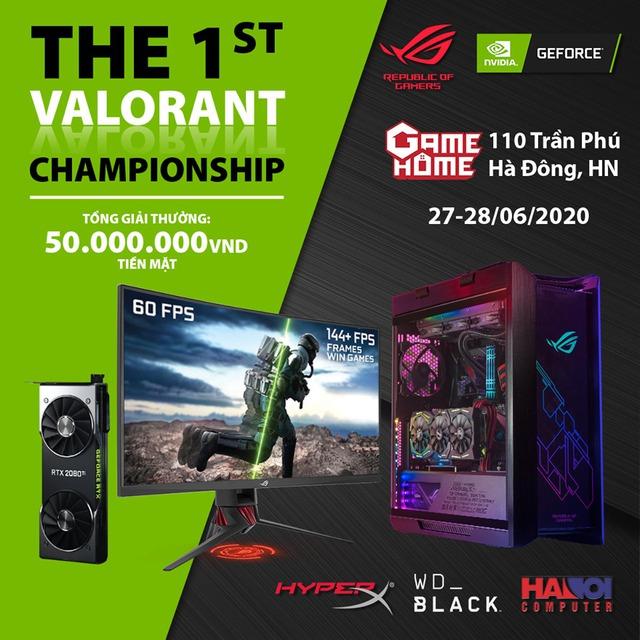 Giải Valorant chuyên nghiệp đầu tiên trên thế giới xuất hiện tại Hà Nội