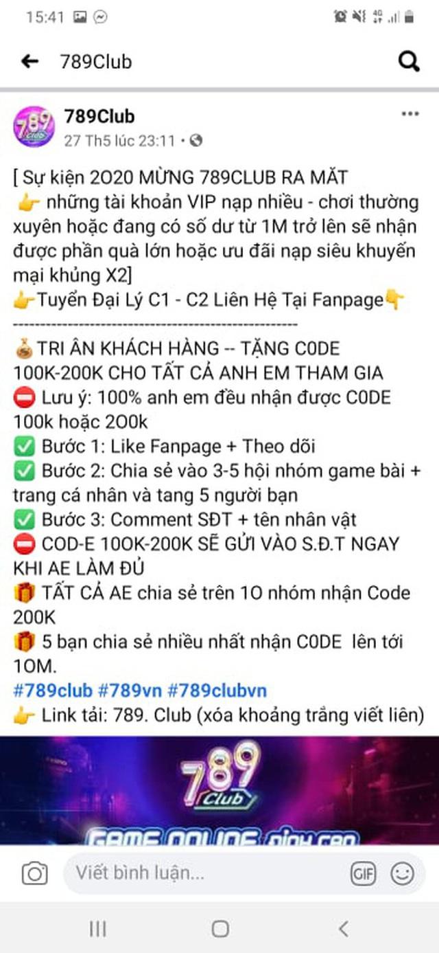Giang hồ mạng Huấn Hoa Hồng ngang nhiên làm MV quảng cáo game đánh bạc: Có thể bị xử lý hình sự - Ảnh 10.
