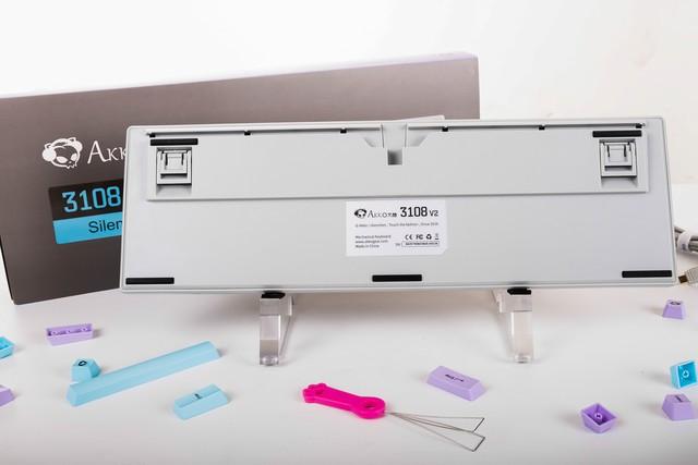 Bộ đôi bàn phím cơ siêu giảm thanh của AKKO: Đẹp ngất ngây, gõ êm mà giá chỉ từ 1,3 triệu đồng - Ảnh 4.