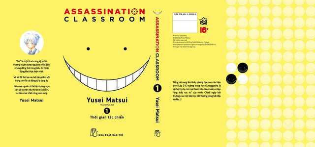 Assassination Classroom: Bộ manga hành động học đường độc nhất vô nhị của NXB Trẻ, kiểu gì cũng phải đọc qua 1 lần! - Ảnh 1.