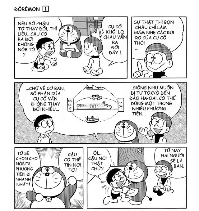 Doraemon: Hậu đậu như Nobita, có du hành thời gian bao nhiêu lần cũng chẳng thể làm thay đổi quá khứ lẫn hiện tại - Ảnh 2.