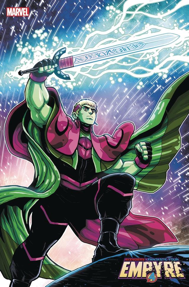 Marvel ra mắt Profiteer, cô em gái mới của Collector và Grandmaster - Ảnh 2.
