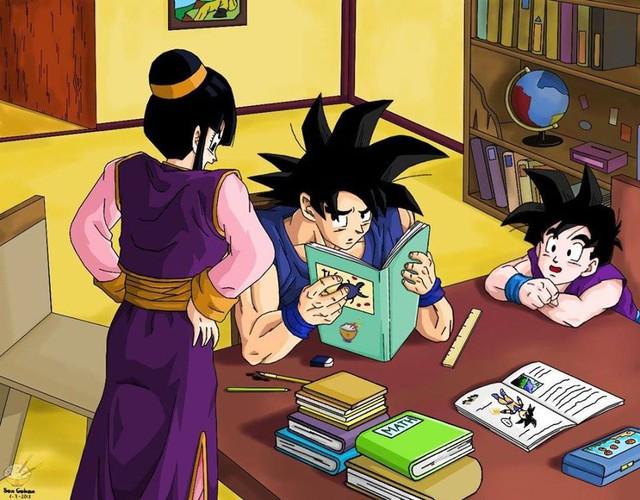 Dragon Ball: Vì sao ChiChi, người vợ mẫu mực của Goku lại bị fan ghét đến như vậy? - Ảnh 2.