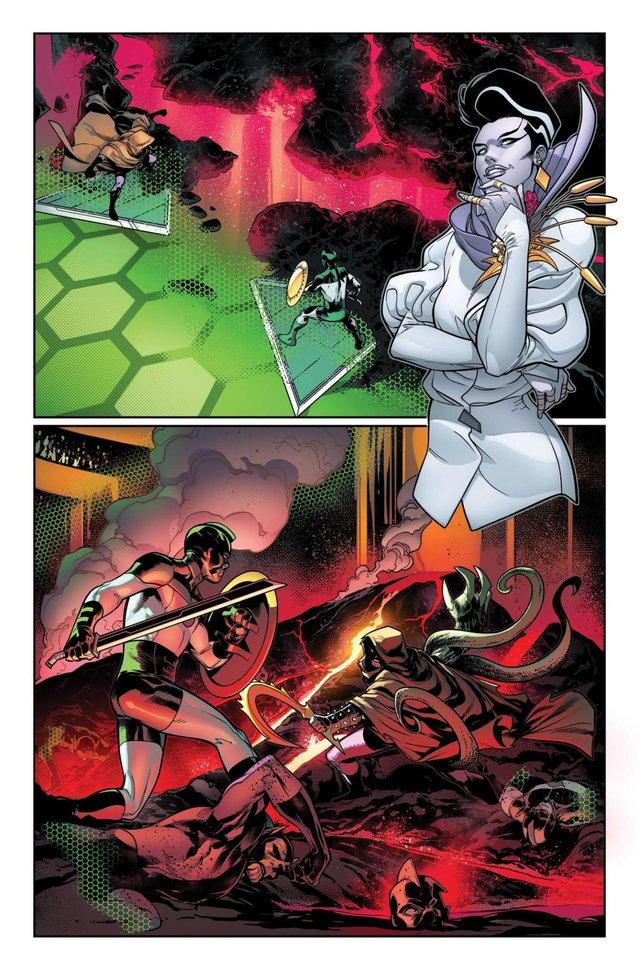 Marvel ra mắt Profiteer, cô em gái mới của Collector và Grandmaster - Ảnh 1.