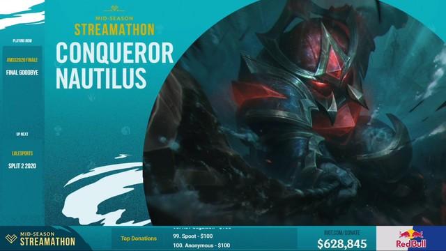 Không có MSI, Riot vẫn giới thiệu trang phục Nautilus Chinh Phục, doanh thu sẽ chia cho Team Flash và các đội tuyển khác - Ảnh 1.
