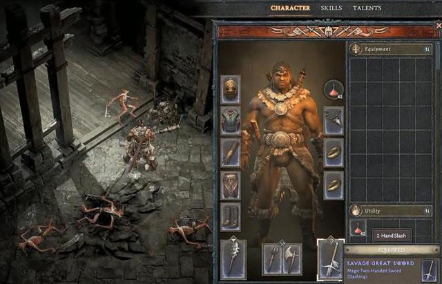 20 phút gameplay Barbarian, chiến binh vĩ đại của Diablo IV - Ảnh 1.
