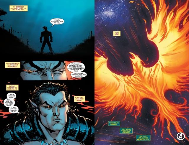 Marvel Comics: Hải Vương Namor sẽ trở thành vật chủ của Phoenix Force 1 lần nữa? - Ảnh 2.