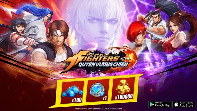 KOF AllStar VNG – Quyền Vương Chiến tung ngay 1000 giftcode đặc biệt cho anh em thoải mái chơi game - Ảnh 1.