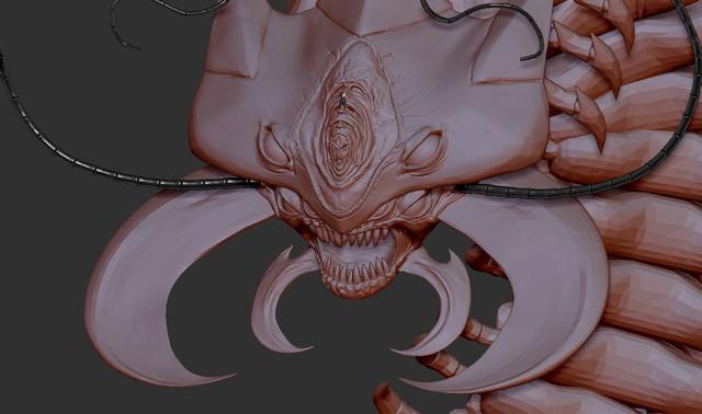 One Punch Man: Ngắm Rết Trưởng Lão phiên bản 3D, đáng sợ đâu không biết chỉ thấy đẹp long lanh - Ảnh 8.