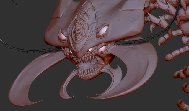 One Punch Man: Ngắm Rết Trưởng Lão phiên bản 3D, đáng sợ đâu không biết chỉ thấy đẹp long lanh - Ảnh 11.