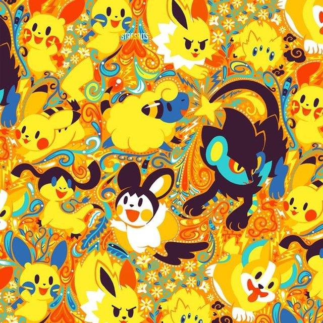 Ngắm bộ sưu tập tranh Pokemon rực rỡ sắc màu khiến fan hâm mộ mê tít - Ảnh 9.