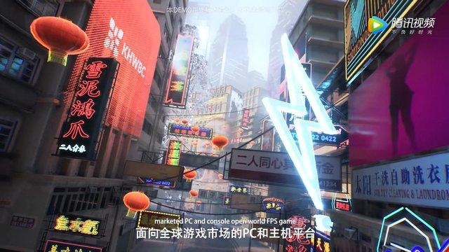 Tencent ra mắt tựa game bắn súng lấy bối cảnh tương lai, tương tự như Cyberpunk 2077 - Ảnh 3.