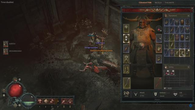 20 phút gameplay Druid, người thú bất tử của Diablo IV - Ảnh 2.