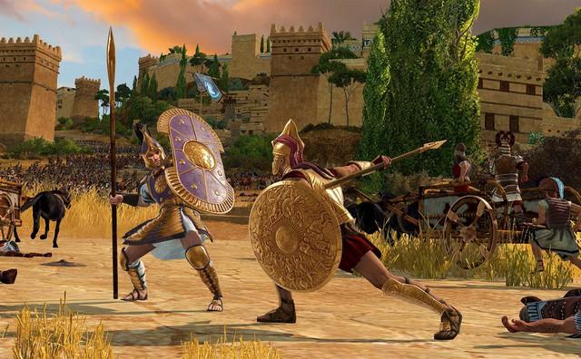 Lộ diện gameplay của Total War Saga: Troy, bom tấn chiến thuật hot nhất 2020 - Ảnh 3.