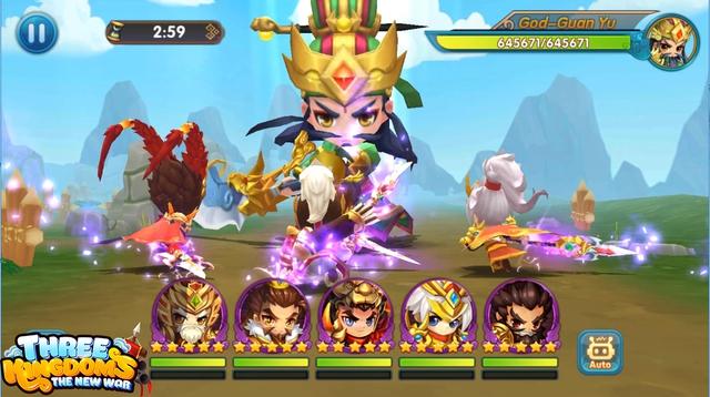 Game chiến thuật quốc tế Three Kingdoms: The New War tặng 300 VipCode - Ảnh 1.
