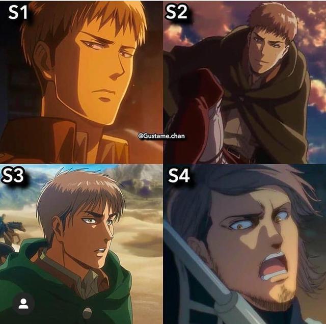 Ngắm quá trình dậy thì nhan sắc của dàn nhân vật Attack On Titan qua 4 Season anime - Ảnh 4.