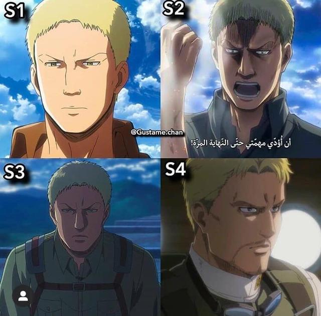 Ngắm quá trình dậy thì nhan sắc của dàn nhân vật Attack On Titan qua 4 Season anime - Ảnh 7.