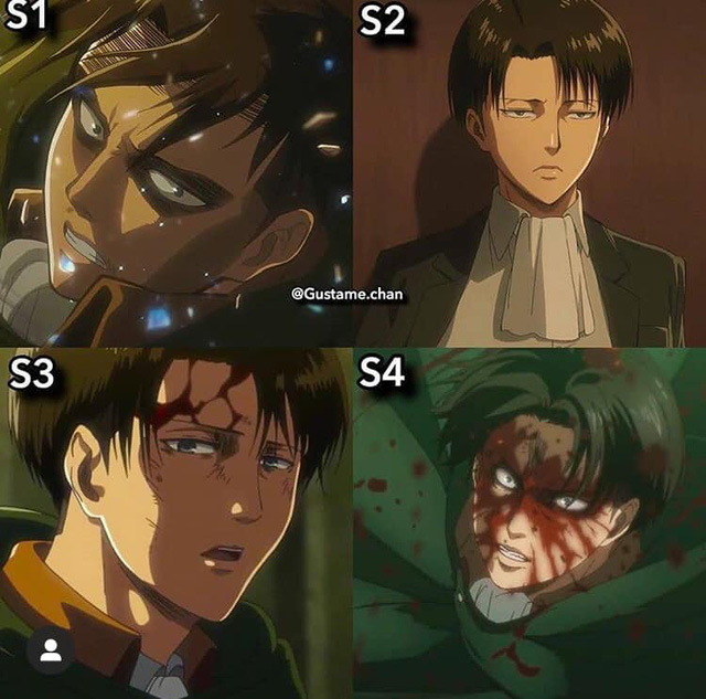 Ngắm quá trình dậy thì nhan sắc của dàn nhân vật Attack On Titan qua 4 Season anime - Ảnh 8.