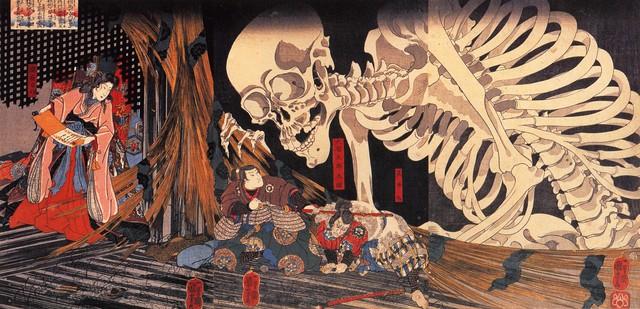 Yêu tinh xương Gashadokuro: Truyền thuyết kinh dị và nỗi sợ hãi ẩn sâu trong những khu rừng tại Nhật Bản - Ảnh 1.