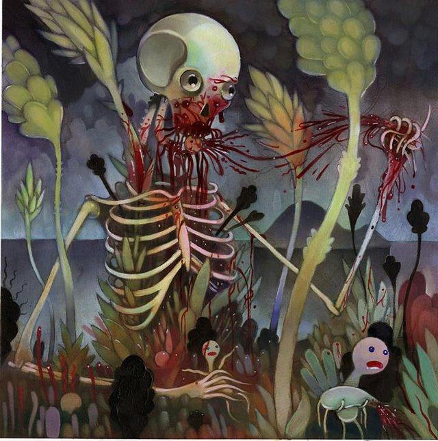 Yêu tinh xương Gashadokuro: Truyền thuyết kinh dị và nỗi sợ hãi ẩn sâu trong những khu rừng tại Nhật Bản - Ảnh 2.