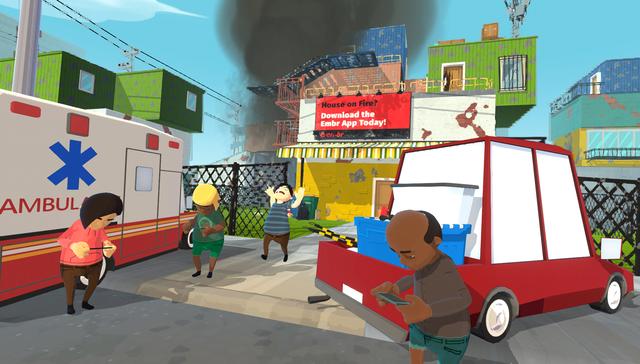 Xuất hiện trò chơi cho phép game thủ cùng bạn bè vào vai lính cứu hỏa vô cùng vui nhộn, hài hước - Ảnh 2.