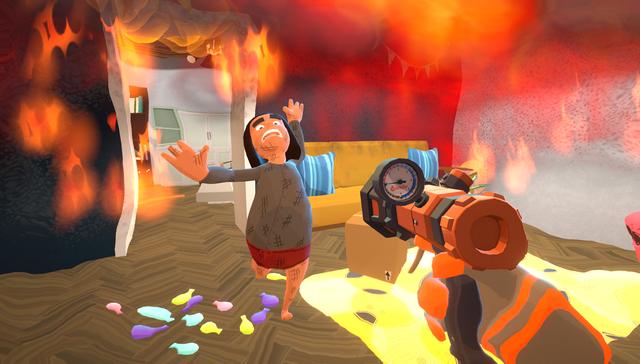 Xuất hiện trò chơi cho phép game thủ cùng bạn bè vào vai lính cứu hỏa vô cùng vui nhộn, hài hước - Ảnh 3.