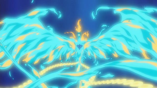 Ngọn lửa xanh của Marco có khả năng hồi phục vết thương cực tốt
