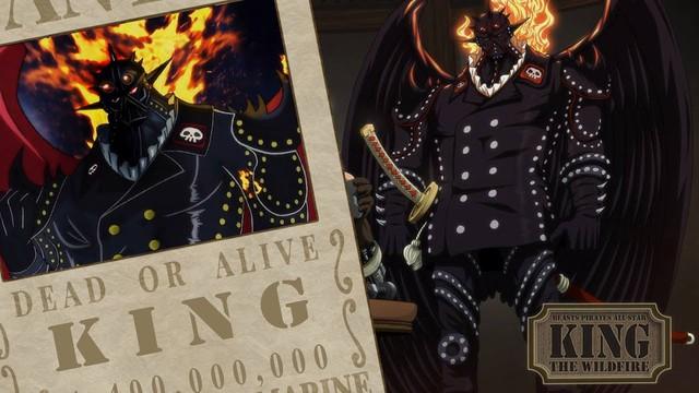 Trong khi đó King hỏa hoạn đã từng nhận được sự đề nghị của Kaido và cả Big Mom gia nhập băng của 2 Tứ hoàng này
