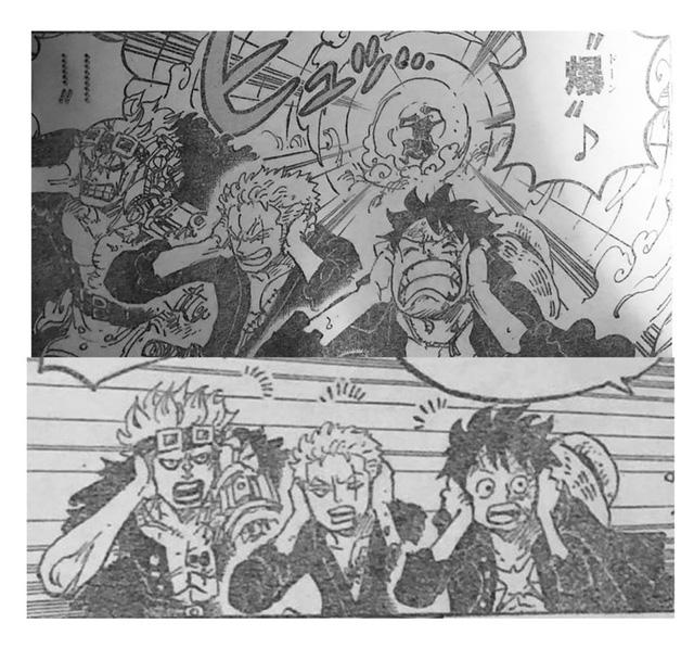 """Hình ảnh bộ ba """"phá kế hoạch"""" ngơ ngác bịt tai lại để vô hiệu hóa đòn tấn công của Apoo"""