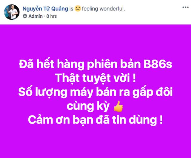 CEO BKAV Nguyễn Tử Quảng nói Bphone cháy hàng, nhiều người Việt tỏ vẻ hoài nghi - Ảnh 1.