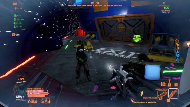 Game thủ Steam đổ xô chơi game co-op kinh dị ngoài không gian cực hot Unfortunate Spacemen, đã thế còn miễn phí 100% - Ảnh 2.