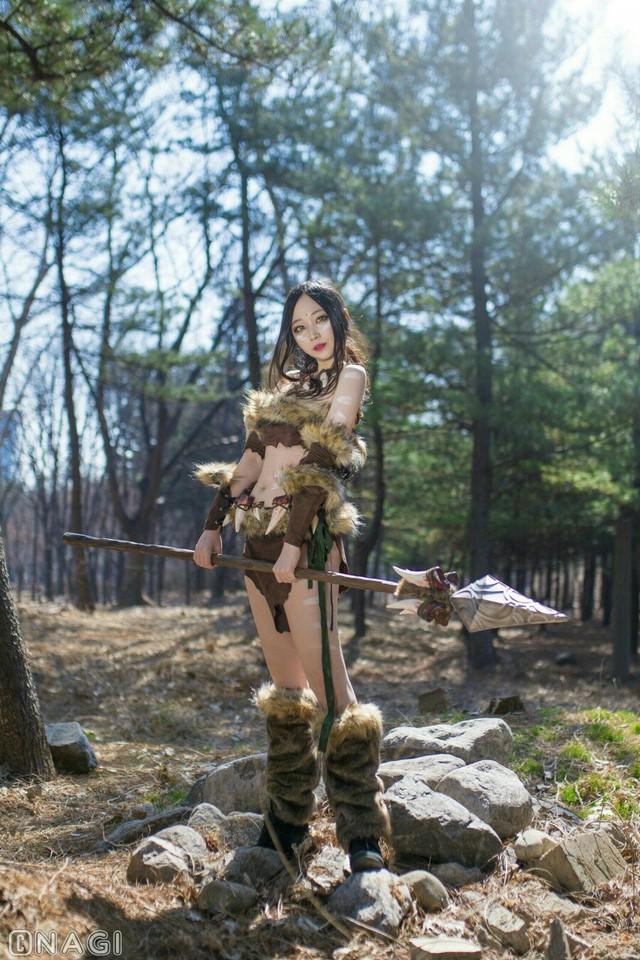 Rạo rực với cosplay Nidalee tâm hồn căng mọng, trắng hồng từng milimet của nữ coser Hàn Quốc - Ảnh 11.