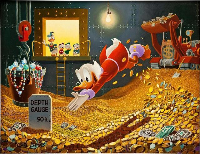 Top 5 nhân vật giả tưởng giàu có bậc nhất: Chú của vịt Donald vô địch thế giới! - Ảnh 1.