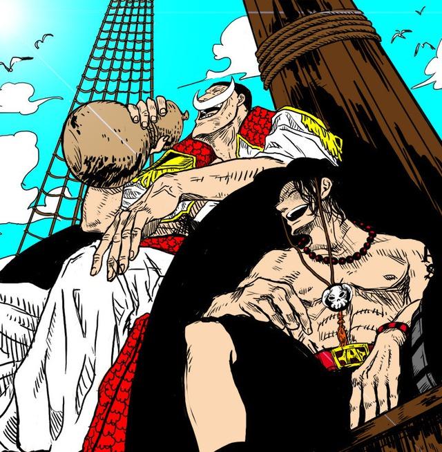 Giả thuyết One Piece: Trước khi gia nhập băng Râu Trắng, hỏa quyền Ace đã được Kaido mời vào băng Bách Thú? - Ảnh 4.