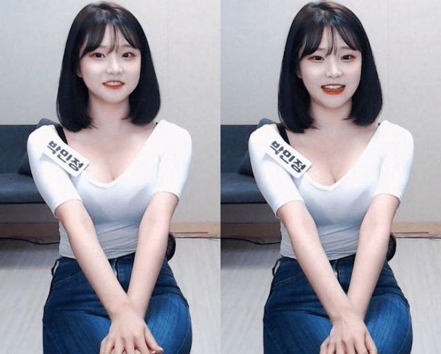 Diện trang phục mỏng tang nhìn xuyên thấu khi lên sóng, nữ Youtuber hồn nhiên đo 3 vòng khiến fan trầm trồ - Ảnh 5.