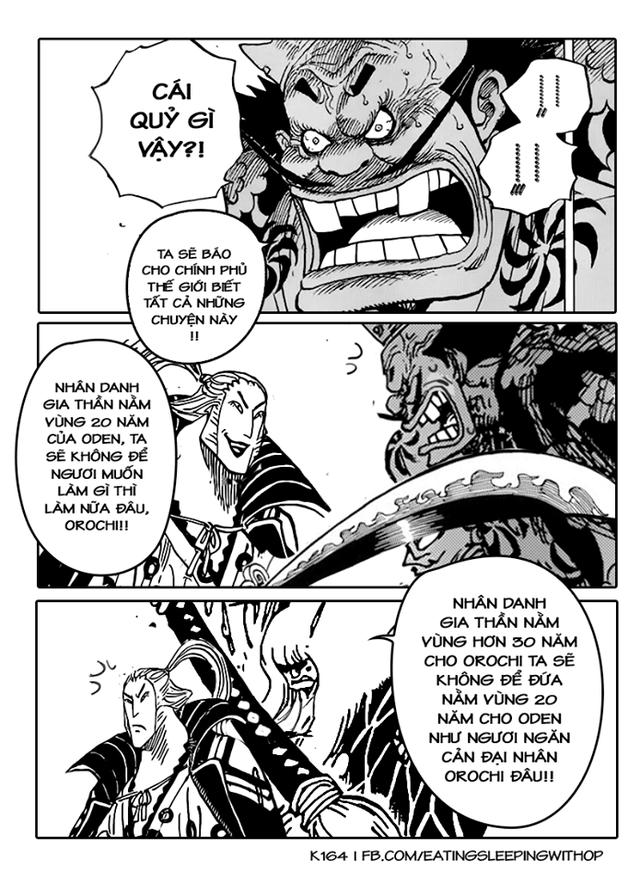Chết cười với loạt ảnh Wano và những cú bẻ cua cực gắt khiến fan One Piece không thể nhịn cười - Ảnh 13.