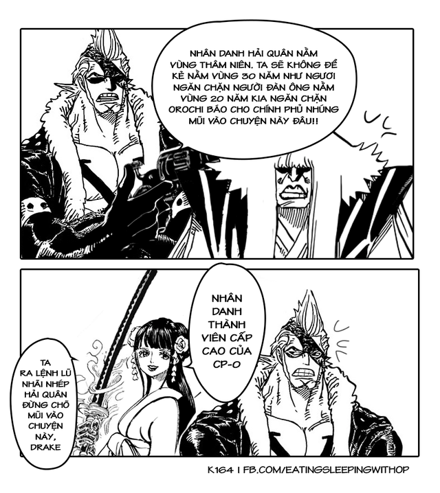 Chết cười với loạt ảnh Wano và những cú bẻ cua cực gắt khiến fan One Piece không thể nhịn cười - Ảnh 14.