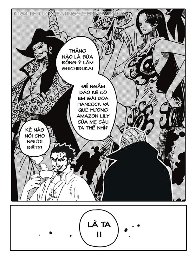 Chết cười với loạt ảnh Wano và những cú bẻ cua cực gắt khiến fan One Piece không thể nhịn cười - Ảnh 8.