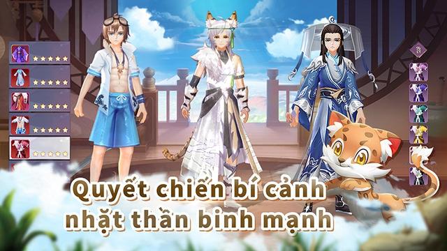 Goddess MUA Mobile game MMORPG mạo hiểm, khám phá thế giới thượng cổ Photo-1-15944401448212041827009